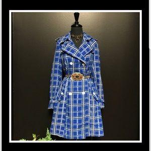 Charlotte  Russe Blue Plaid coat